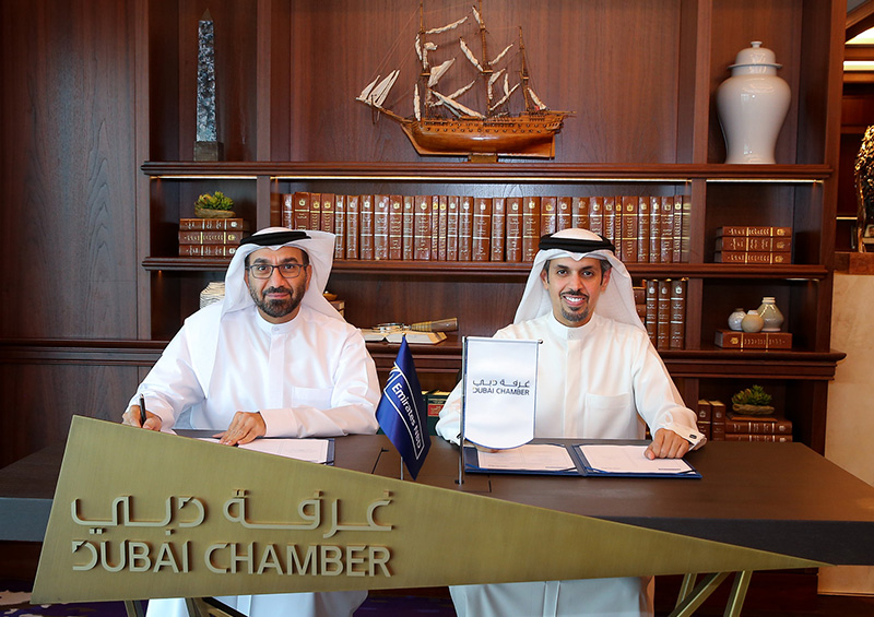 Dubai Chamber and Emirates NBD sign MoU on Digital Silk Road initiative