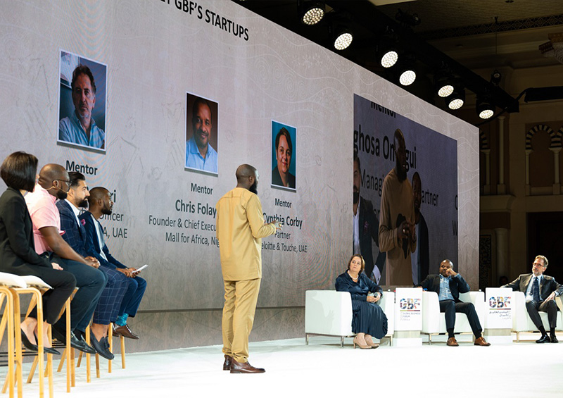 Promising African and UAE startups pitch their business at Global Business Forum Africa 2019