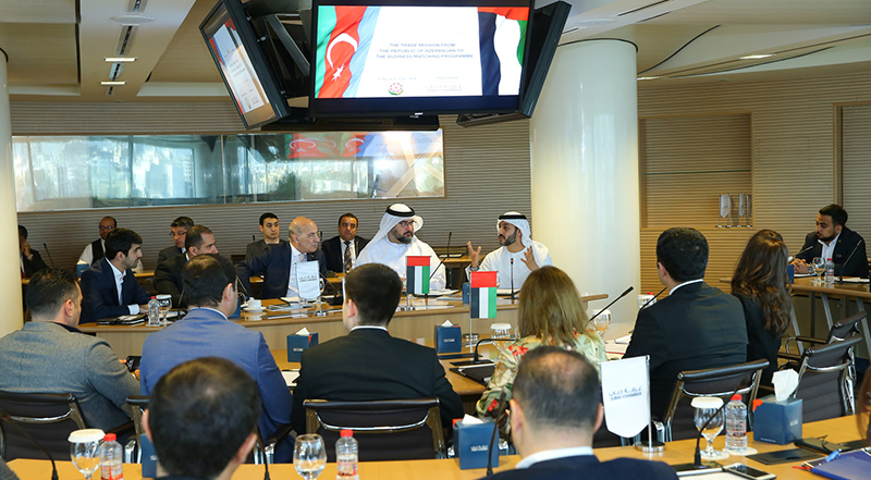 Dubai Chamber hosts business delegation from Azerbaijan