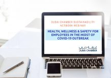 Dubai Chamber organizes webinar on how to ensure health and well-being of employees
