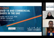 Dubai Chamber webinar examines impact of Covid-19 on commercial leases in UAE