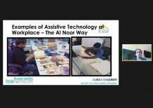 Webinar examines use of assistive technology to support People of Determination during COVID-19